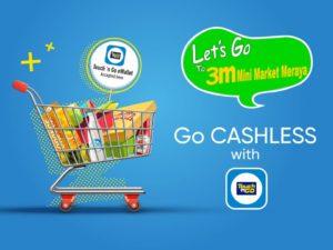 3M Mini Market Meraya Touch n Go app Promotion Free Reload Pins